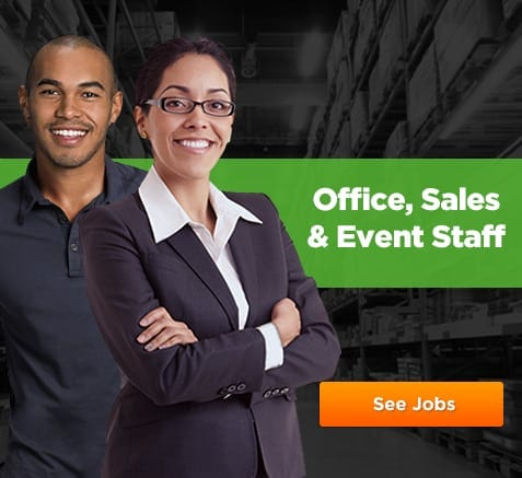 Office, Sales and Event Staff